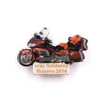 Custom Car Badge Hot Sale Electroplated Zinc Alloy Motorcycle Badges
