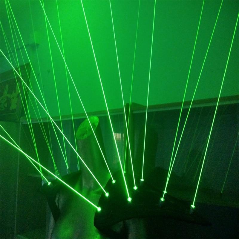 Yeni gəlmiş Yaşıl lazer robot kostyumu, yüngül - Şənlik aksesuarları - Fotoqrafiya 5