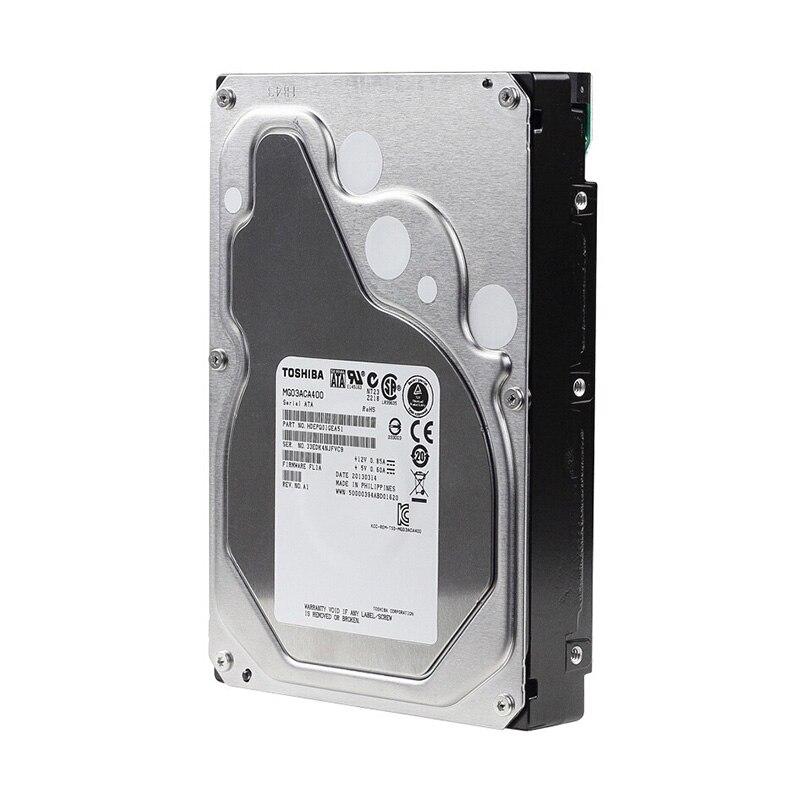 Toshiba HDD Disque Dur 3.5 4 tb Disco Duro Disque Dur Ordinateur Moniteur Sata 3 Interne HDD Disque Dur 5400 rpm 128 m Drevo
