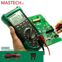 1 шт. MASTECH MS8268 Авто Диапазон Цифровой Мультиметр Полная защита ac/dc амперметр вольтметр ом Частотный электрический тестер