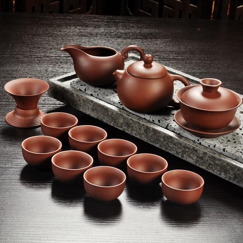 Yixing Purple Sand Gong Fu Tea Ceremony Set 5