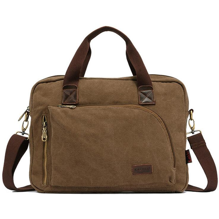 New Men Crossbody Bag Men s Handbags Canvas Shoulder Bags multi function messenger bags
