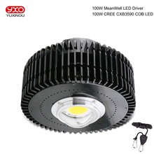 COB LED לגדול אור ספקטרום מלא קריס CXB3590 100 W 13000LM HBG 100W CREE LED גידול מנורה מקורה LED צמח צמיחה תאורה