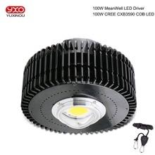 COB LED Grow Light Full Spectrum CREE CXB3590 100W 13000LM HBG 100W CREE LED Growing Lamp Indoor LED Plant Growth Lighting