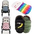 Детская Коляска зима спальный мешок конверт для новорожденных коляски, Куклы мешок infantil коляска мешок сна для инвалидного кресла