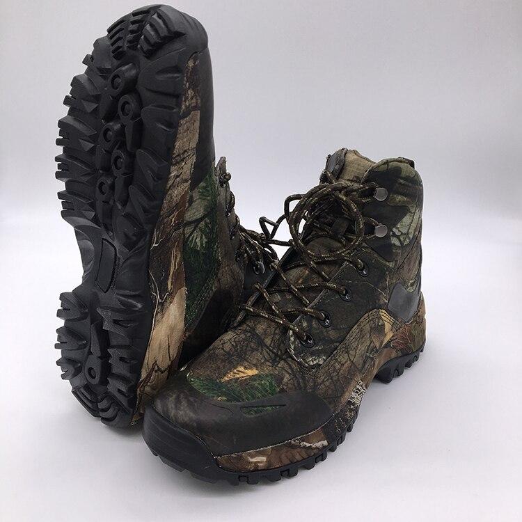 Камуфляжные охотничьи ботинки Realtree AP камуфляжные зимние ботинки непромокаемые, уличные тактические камуфляжные ботинки для охоты и рыбалк...