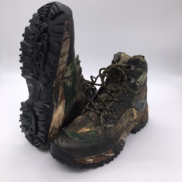 5909243b17d4d Camo Hunting Boot Realtree AP Camouflage Winter Snow Boots Waterproof,Outdoor  Tactical Camo Boot Hunting Fishing Shoe Size 39-45