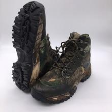 Camo Jagd Boot Realtree AP Camouflage Winter Schnee Stiefel Wasserdicht, Outdoor Tactical Camo Boot Jagd Angeln Schuhgröße 39-45