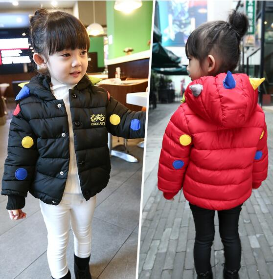 dc6f578e2 2016 hot Girls Winter Light White Duck Down Coat Kids Jacket Hooded ...