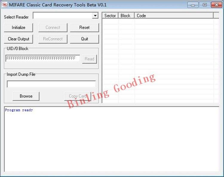 Nfc Karte Kopieren.Us 9 4 6 Off Mf 1 Karat S50 Karte Kopieren Klon Software Fur Acs Acr122u Nfc Reader In Zugangs Control Kits Aus Sicherheit Und Schutz Bei