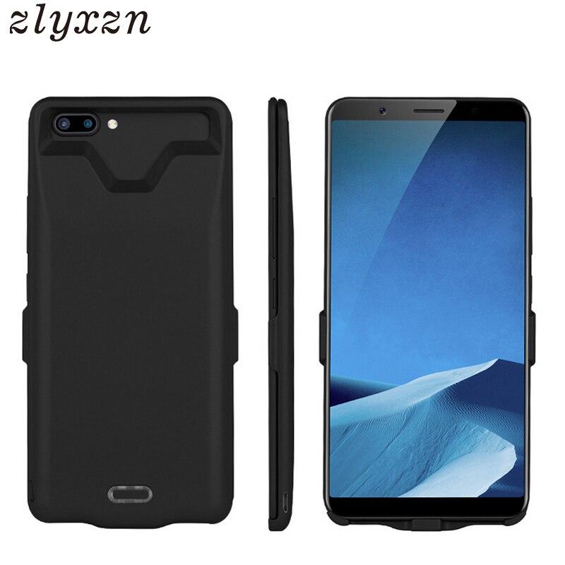 5000 mah Portable Batterie Externe Chargeur Cas Pour MeiZu Note 5 Puissance Couverture Pour OPPO A79 A73 R11S Y79 X20 SUCRE Y9 Batterie Cas