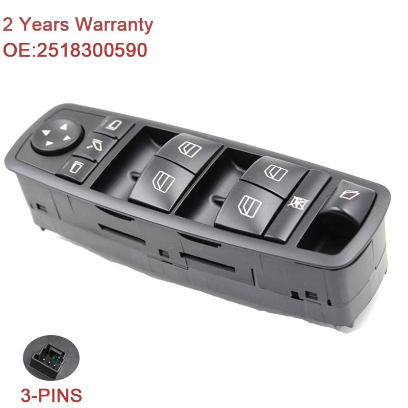 2518300590 Window Master Switch For Mercedes GL R Class ML350 W251 - Ավտոպահեստամասեր