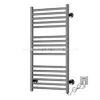 1pcs Heated Towel Rail Holder Bathroom AccessoriesTowel Rack Stainless Steel ElectricTowel Warmer Towel Dryer 120W