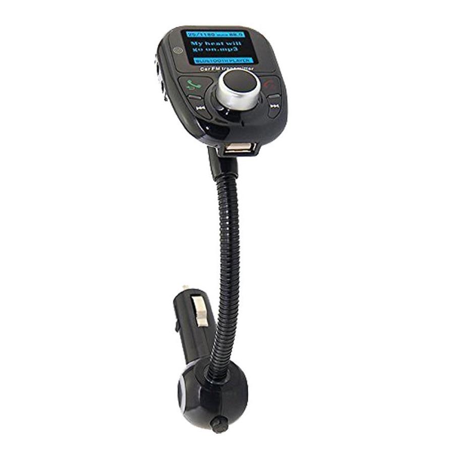 Автомобиль Универсальный Беспроводной bluetooth mp3 fm передатчик Радио адаптер с Hands Free вызова и пульт дистанционного управления для сотового те…