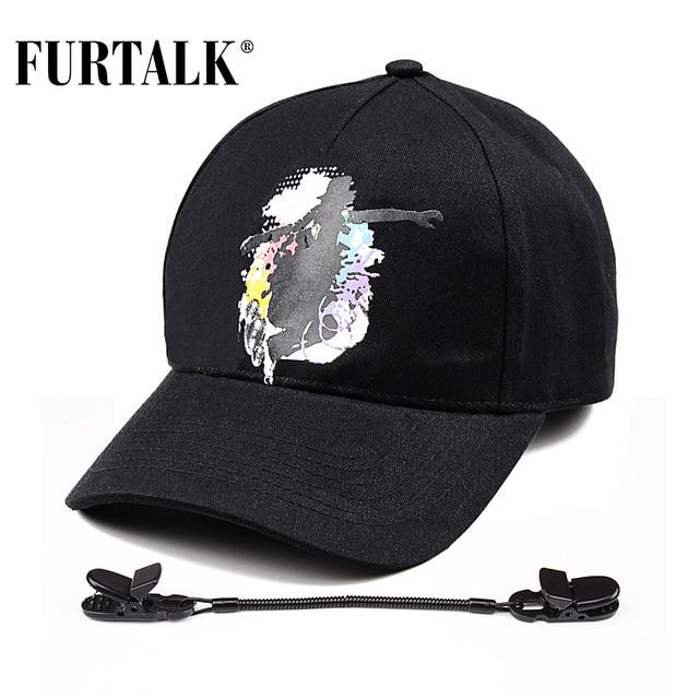 FURTALK fashion summer black caps for women and men baseball cap brand snapback boating skiing climbing Windcap for windy days