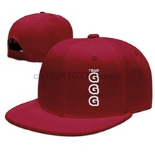Unisex Baseball Cap Gennady Golovkin GGG Logo Adjustable Flat Brimmed Hat (China) 443272816021
