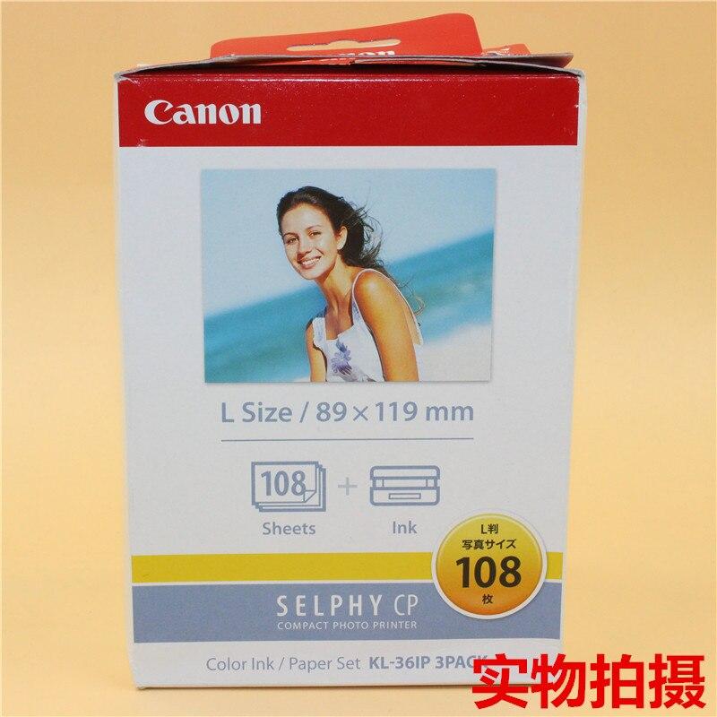 Canon KL-108 caméra impression papier Sublimation chaude universelle Canon CP série 108