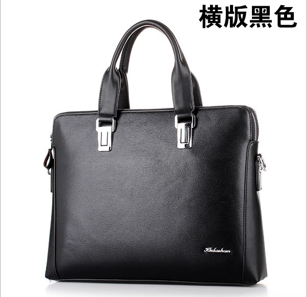 HK dashan brand business man briefcase pu leather men's briefcases male fashion laptop black  handbags big size 15inch black сумка givenchy fc150411 hk 15 pervert