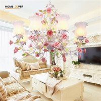 2017 New Arrival Hot Sale Chandeliers Genuine Vintage Chandelier Handmade Golden High Quality Flowerlike Novelty Led