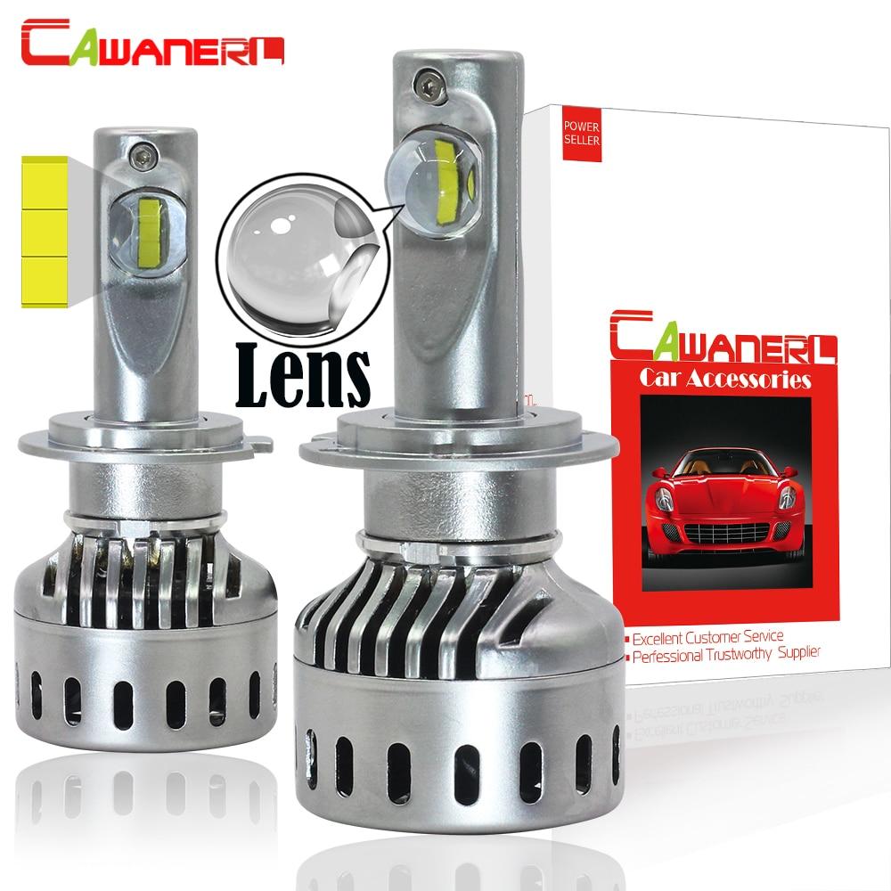 Cawanerl H1 H7 LED Headlight Bulb With Lens 60W 7200LM Each Set 6000K H4 H8 H9 H11 9005 HB3 9006 HB4 9012 Car Headlamp Fog Light h1 h4 h7 h8 h9 h11 9005 9006 hb3 hb4 9012 hir2 car led headlight bulbs to replace automobile halogen headlamp fog conversion kit page 9