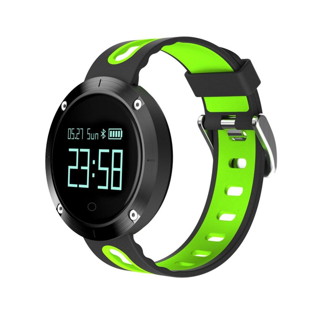 Waterproof Sports Bracelet DM58 Smart Band Heart Rate Blood Pressure Watch Smart Wristband Fitness Tracker for