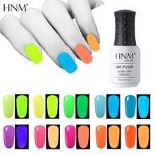 HNM 8ml UV Gel Night Glow In Dark Lucky Lacquer Varnishes So