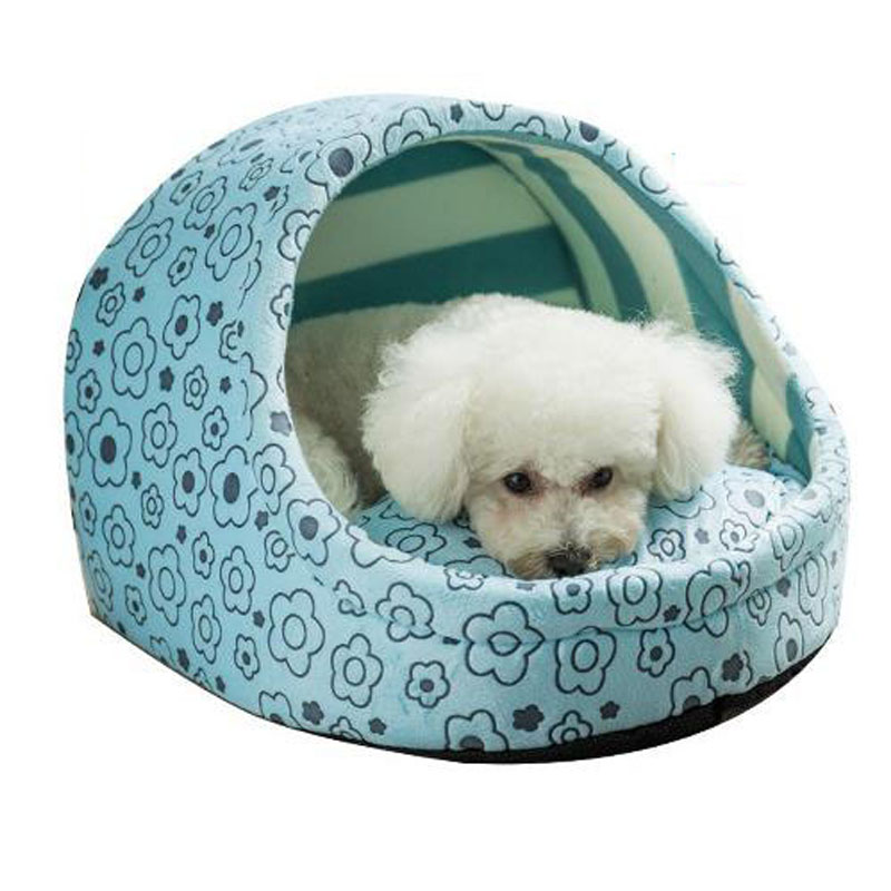 Cute dog bed for small dogs Cat Bed House princess Pet ...