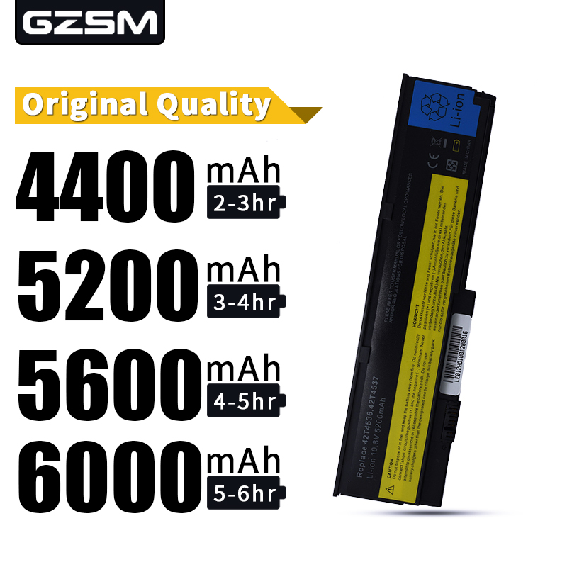 HSW NEW Laptop Battery For IBM X200 X200S X201 X201S X201i 42T4534 Battery For Laptop 42t4543 42T4650 43R9254 43R9253 Battery