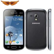S7562 разблокированный мобильный телефон samsung S7562 1500mAh 5MP 4,0 ''3g GSM/WCDMA с двумя сим-картами