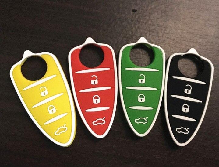 Ausdauernd Autewode Silikon Schlüssel Abdeckung Fall Für Alfa Romeo Mito Giulietta 159 Gta Flip 3 Tasten Flip Remote Key Pad Shell 1 Pc Mode Dauerhaft Im Einsatz