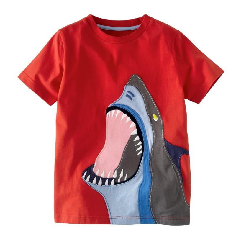 HTB1KJ9dMpXXXXbbXXXXq6xXFXXXg - 2016 New Kids T-Shirt Baby Clothes Boys Summer O-Neck T-shirts Cartoon Monkey Girls Short Sleeve Tops Children Cotton Clothing