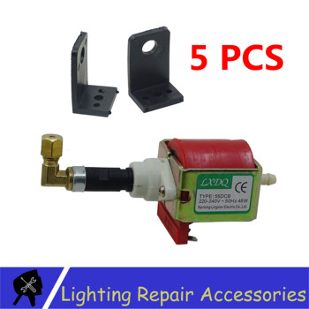 5Pcs/lots 55DCB 48W Oil Pump Power Pump 110V Or 220V Used For 2000w 3000W Smoke Fog Machine Accessories Oil Pump
