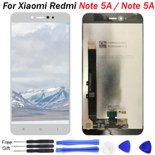 For xiaomi Redmi Note 5A LCD Touch Screen Digitizer Sensor Assembly Xiaomi Prime Display Repair