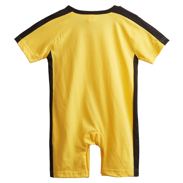 Bébé Garçons Barboteuses Kung Fu Toddler Costume D'été Manches Courtes