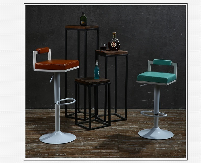 coffee house chair bar green purple seat PU leather cloth seat free shipping furniture shop retail wholesale living room chair public house chair foldable stool free shipping furniture shop retail wholesale chair pu clother seat household chair