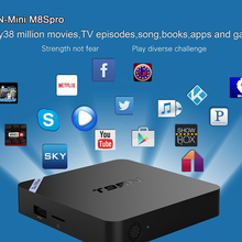 Nueva S905x T95N Mini M8S Pro Android TV Box Quad Core Bluetooth Wifi Kodi 16.0 2G 8G DDR3 de Memoria Smart Set top Box Máster Erasmus Mundus