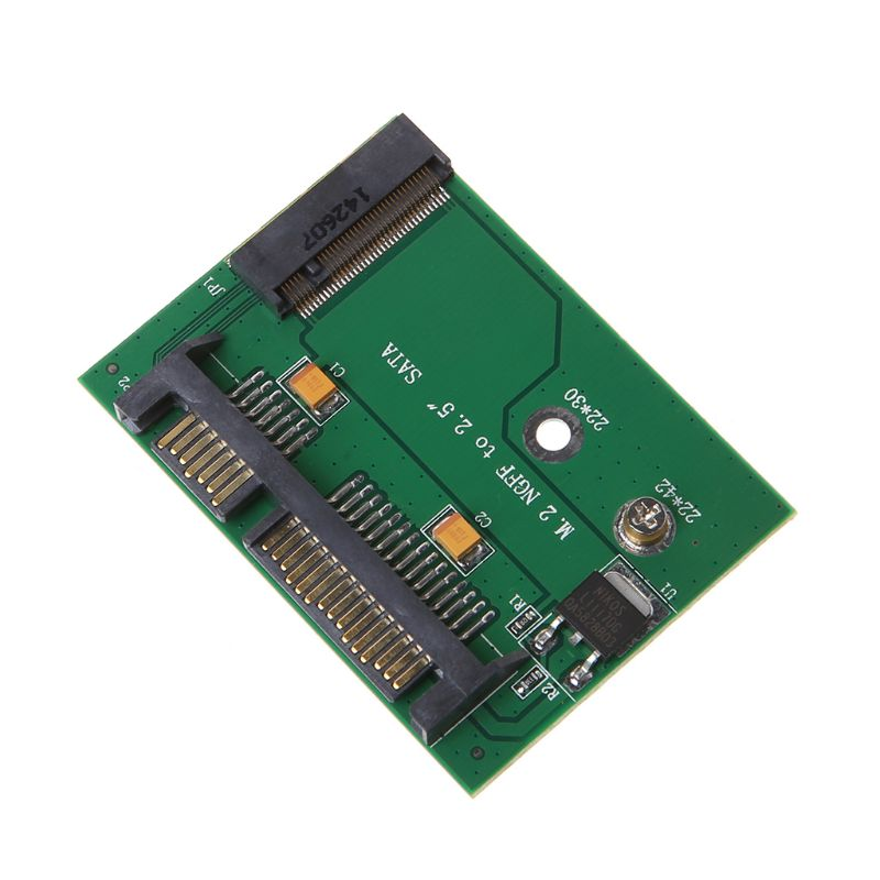 New  M.2 SSD SATA 3.0 Solid State Drive To SATA Interface Adapter Converter Card