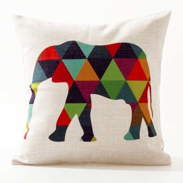 Nordic Geometric Decorative Pillowcase Size: 45CM WT0042 Color: 14