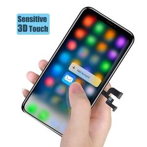 Image 4 - BFOLLOW kopya LCD/OLED iPhone X ekran değiştirme için gerçek ton sayısallaştırıcı ekran meclisi çerçeve mühür
