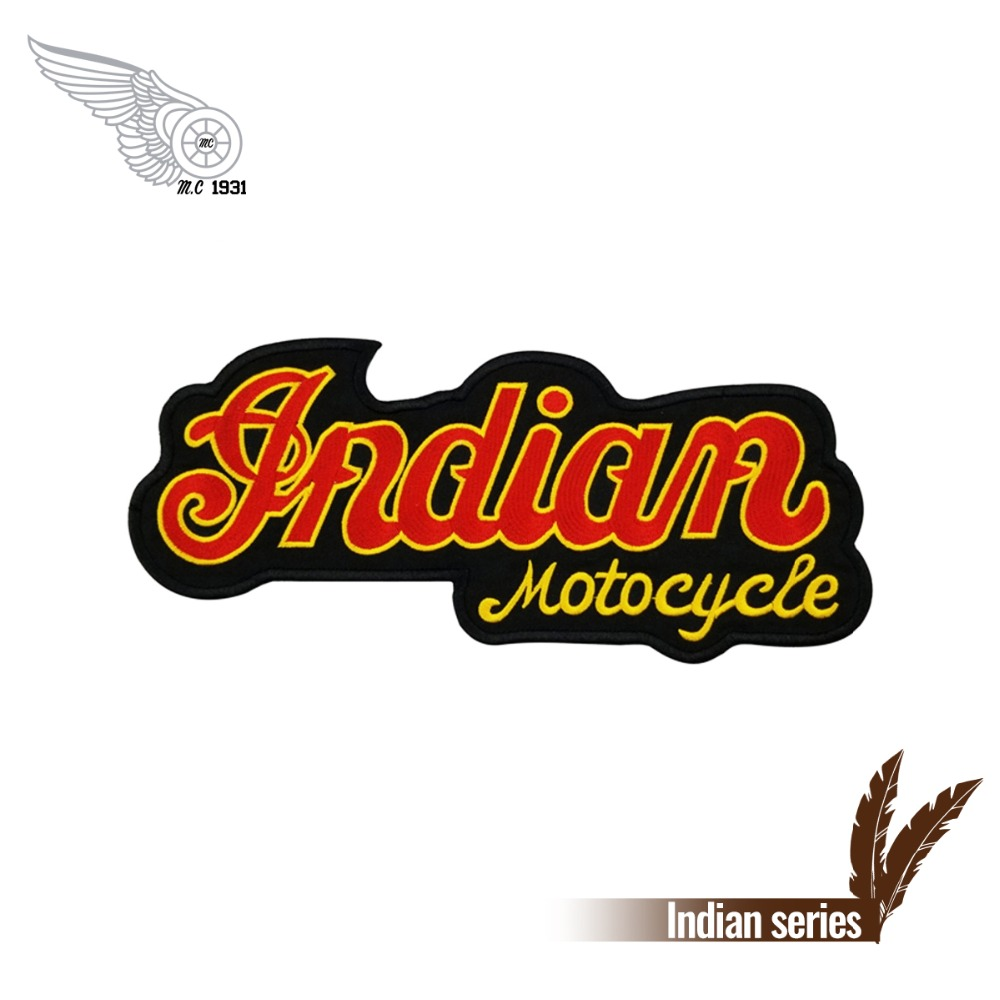 """Indian Motorcycle Riders Group Embroidered Patch ~ 5"""" SEW Or IRON ON"""