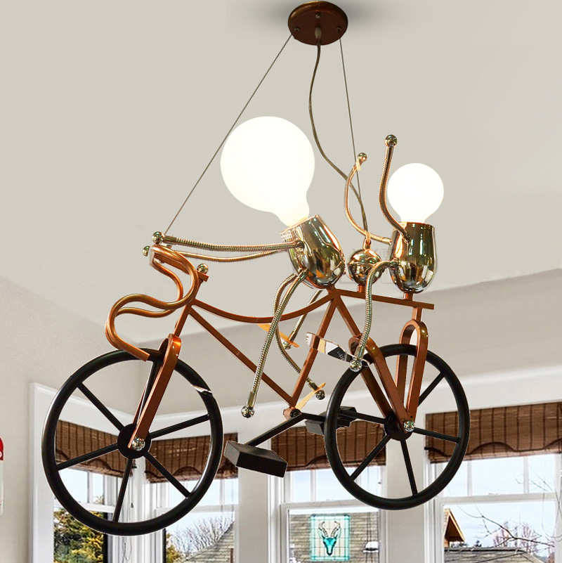 Modern Pendant light led lamps childrens cartoon pendant lamp light lights modern brief bedroom residential Lighting