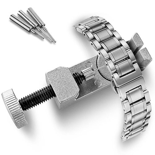 Adjustable Metal Watch Band Strap Link Pin Remover Repair Tool Dismantling Kit S