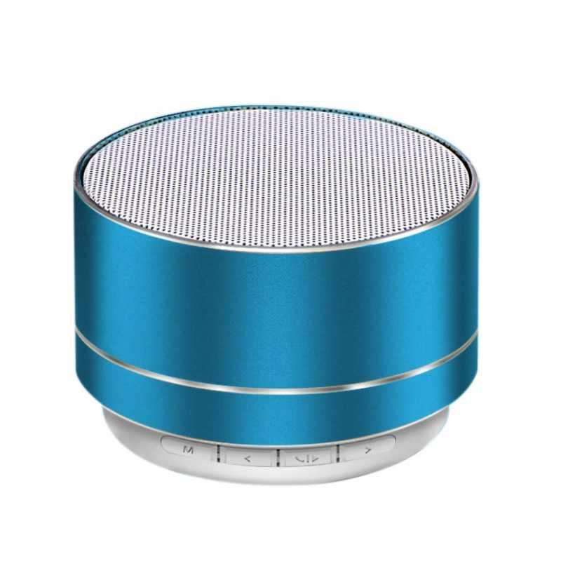 Мини умная акустическая система Портативный беспроводной Bluetooth динамик стерео Встроенный микрофон многофункциональный динамик