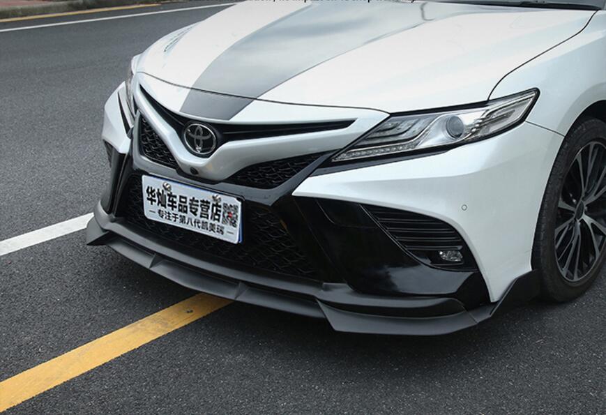 Saias Laterais ABS Front Bumper Lip Difusor Traseiro Para Toyota Camry Esportes Seção 2018 2019