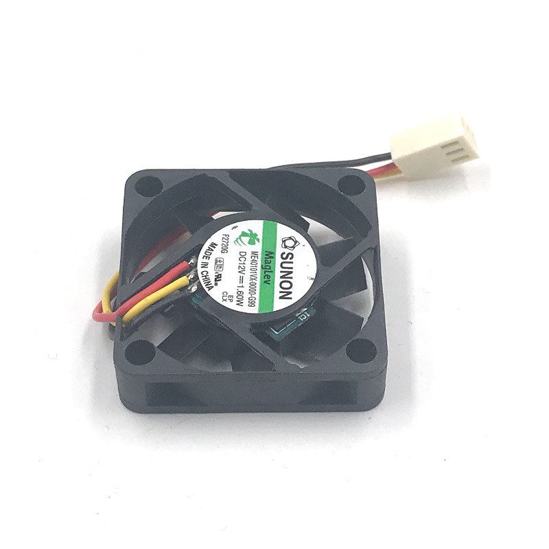 sunon ME40101VX-0000-G99 40mm 4010 40*40*10mm slim DC12V 1.60W mini axial case cooling fan 3-P 8500RPM 9.9CFM