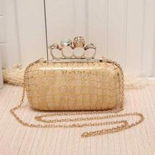 new elegant women evening bag hand clutches fashion stone print chain shoulder messenger bag hot sale dinner bag