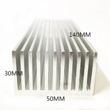 1 шт. Алюминиевый Радиатор 50*30-140 мм/IC теплоотвод/светодиодный радиатор/алюминиевые профили/PCB теплоотвод