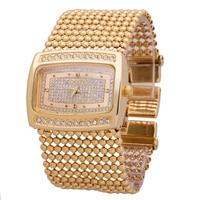 Gouden Zilveren Armband Horloge Rvs Waterbestendigheid Quartz Horloge Hoge Kwaliteit Merk Jurk Horloges Groothandel Hot