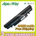 N150 apexway 4400 mah da bateria do portátil para samsung aa-pb2vc3b aa-pb2vc3w pb2vc6b aa-pb2vc6w n150 np-n148 np-n150 n148 nt-n148