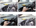 High quality General Car Steering Wheel Theftproof Lock Auto Anti-theft Retractable Lock